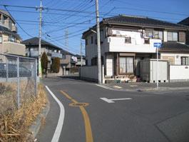 しいの木台道路1