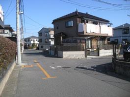 しいの木台道路2