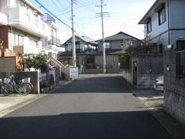 しいの木台道路4