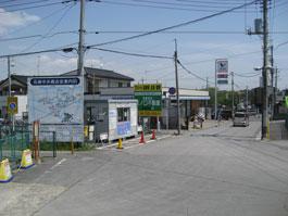 高柳駅改札出口
