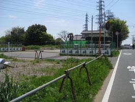 高柳駅西口バス停