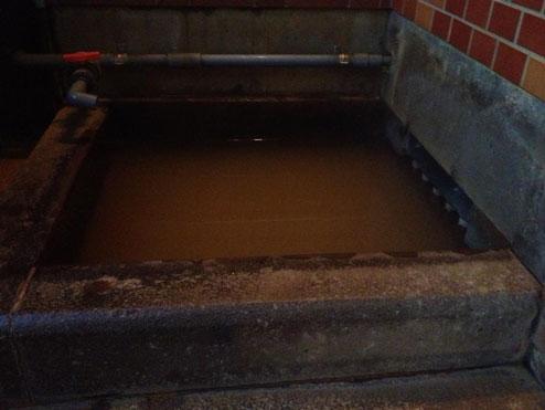 寺山鉱泉の浴室